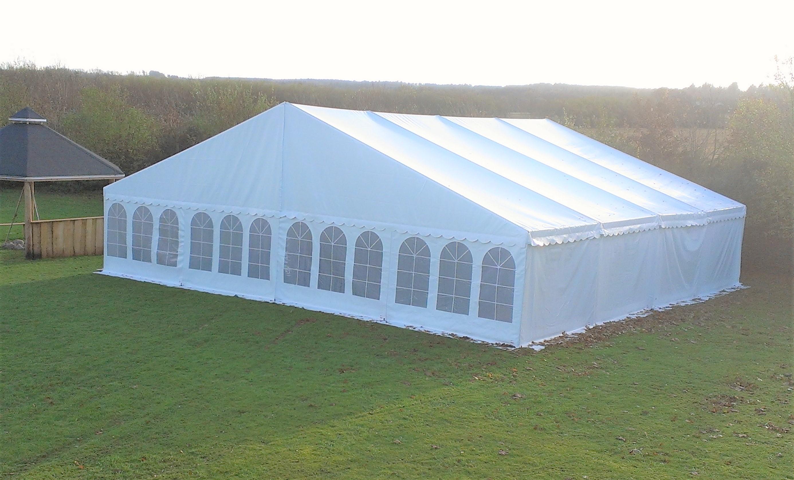 hyra tält 8 gånger 4 meter